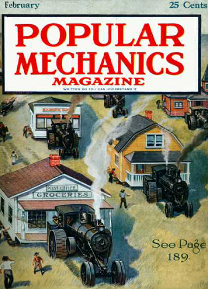Popular Mechanics Front Cover Feb. 1920